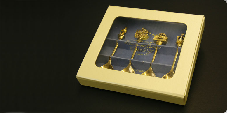 Presentation Box with Magnet Closure